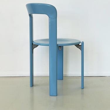 Vintage Blue Rey Chair by Bruno Rey