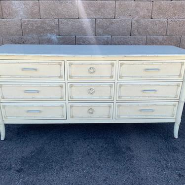 Ready for customization - Thomasville bamboo dresser by McKennaDesignCompany