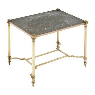 Brass Maison Bagues Style Side Table