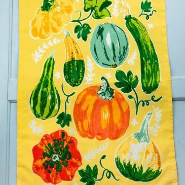 Harvest Squash Tea Towel