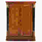 Baker French Empire Style Cherrywood Bar