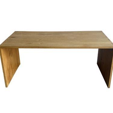 Oak Desk by Gilbert Pelletier, France, 1930's