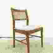 Mid Century Modern Walnut Side Chair
