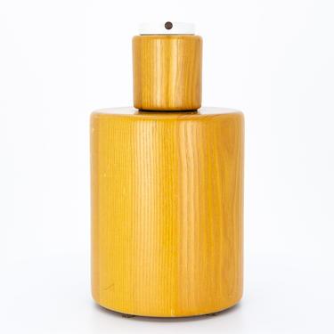 Walter Von Nessen Mid Century Teak Table Lamp - mcm by ModernHill