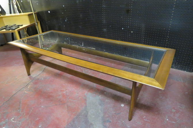Vintage MCM Adrian Pearsall by Lane coffee table