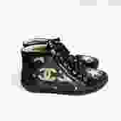Chanel The Paris Dallas Sneakers, Size 37
