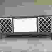 Upcycled Midcentury Credenza Server