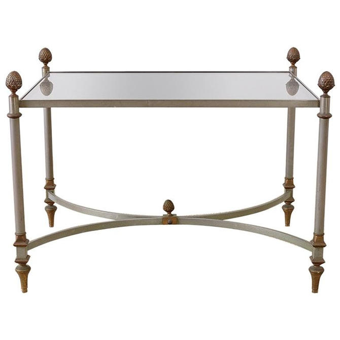 French Maison Baguès Style Bronze Metal Cocktail Table by ErinLaneEstate