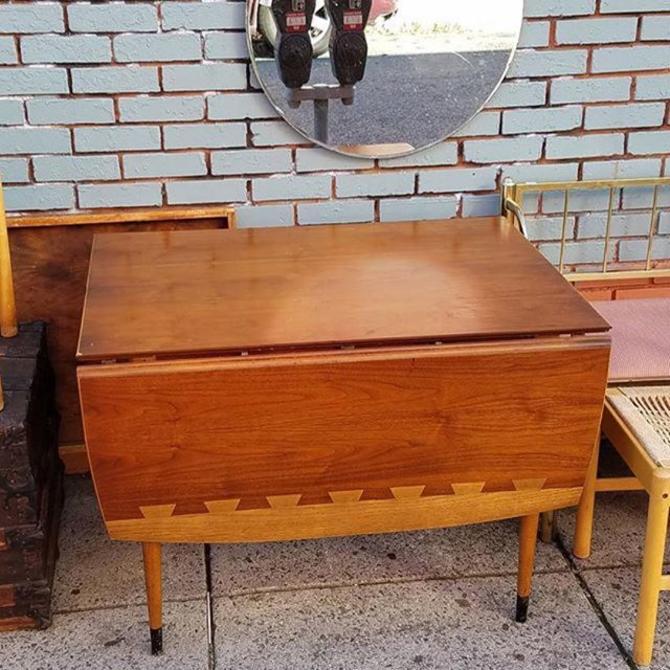 SOLD. Lane MCM Drop Leaf Table, $150