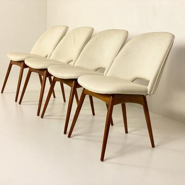 Adrian Pearsall 1404-C Scoop Chairs (Set of 4), Circa 1960s - *Please ask for a shipping quote before you buy. by CoolCatVintagePA