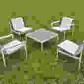 Knoll Patio Set Designed by Richard Schultz Knoll 1966 by HearthsideHome
