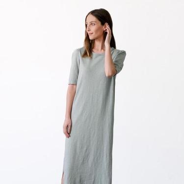 Puff Sleeve T-Shirt Dress (multiple colors)