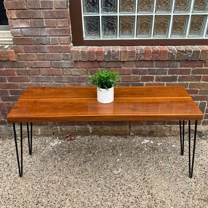 Repurposed Console Table
