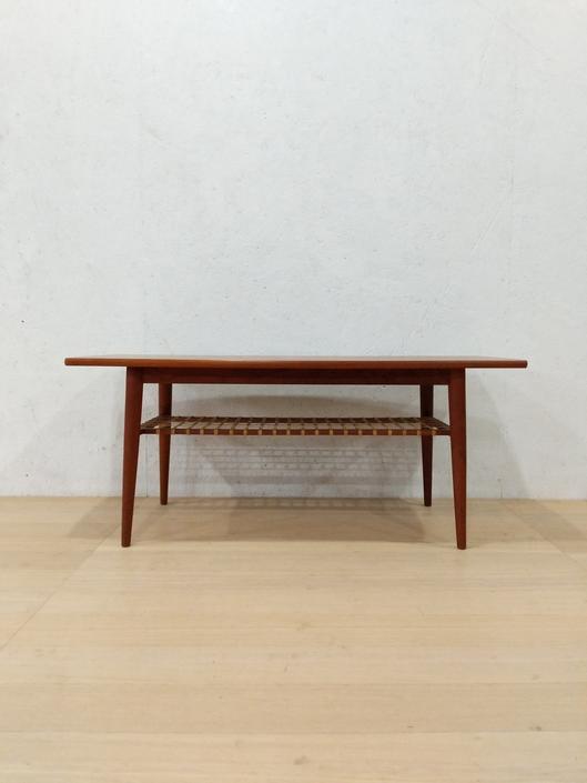 Vintage Danish Modern Teak Coffee Table by FarOutFindsNYC
