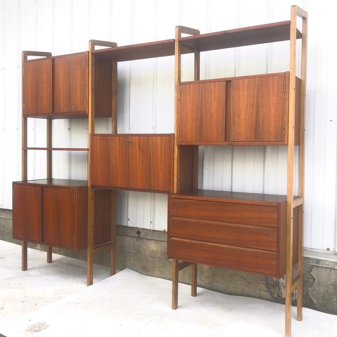 Mid-Century Modern Wall Unit by secondhandstory