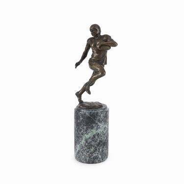 Miguel Fernando Lopez Bronze Sculpture NFL Player by VintageInquisitor