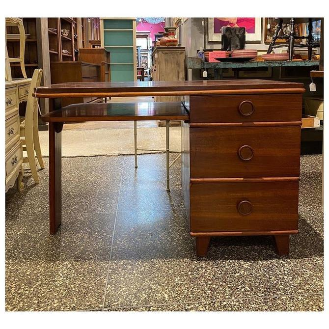 "Cute Art Deco desk 44"" wide / 25"" deep / 30"" height"