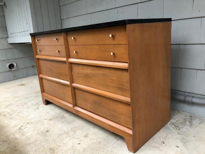 Midcentury Six Drawer Dresser/Credenza