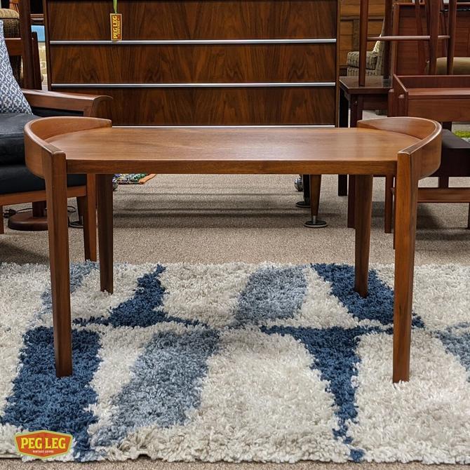 Danish Modern teak living room table by Jens Risom