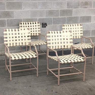 LOCAL PICKUP ONLY ———— Vintage Tropitone Patio Chairs by RetrospectVintage215