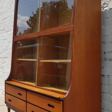 Mid Century Modern Teak Cabinet by VintageVaultTulsa