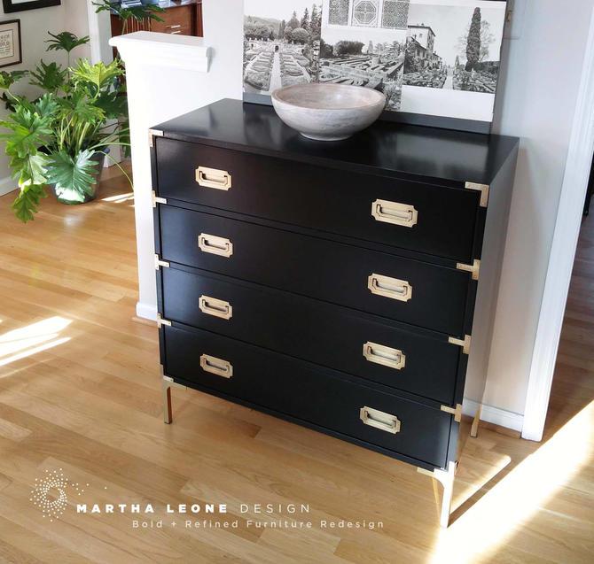 Campaign Dresser Custom Order  SAMPLE by MarthaLeoneDesign