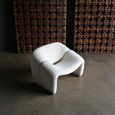 Pierre Paulin F598 Groovy Lounge Chair for Artifort, circa 1972
