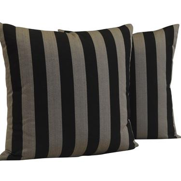 LUXE STRIPED PILLOWS
