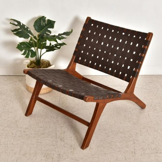 Leather Strap Chair