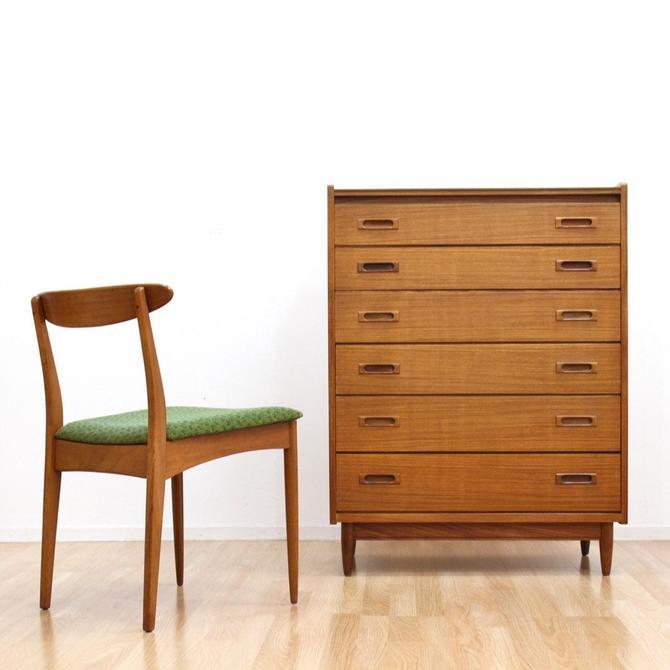 Mid Century Teak Dresser by White & Newton by SputnikFurnitureLLC
