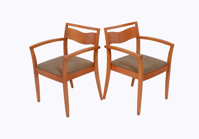 Knoll Studio JR Chair Joseph and Linda Ricchio Arm Chair Dining Chairs Mid Century Modern by HearthsideHome
