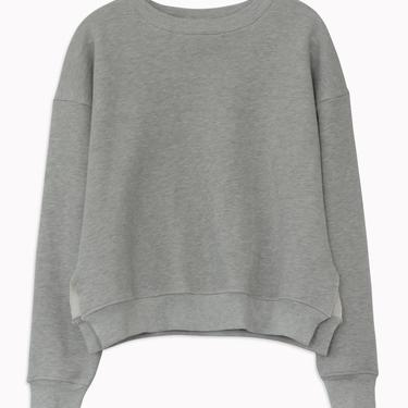 Studio Sweatshirt in Heather Grey