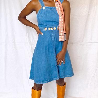 70's Denim Landlubber Dress