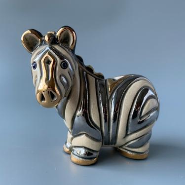 De Rosa Collection Ceramic Zebra Figurine by HomeAnthology