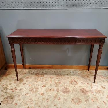 Hickory Chair Console Table (1 of 2 available)