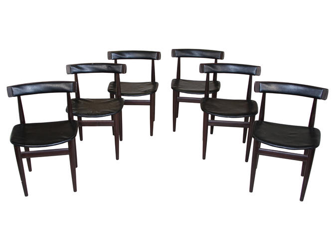 Mid Century Modern Teak Dining Chairs By Hans Olsen For Frem Rojle by RetroPassion21