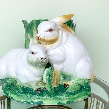 Sweet Bunny Italian Cachepot