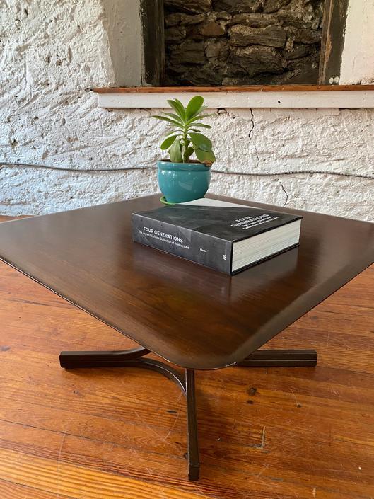 Mid century coffee table Danish modern coffee table mid century modern center table by VintaDelphia