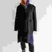 DKNY High Neck Mid Length Coat