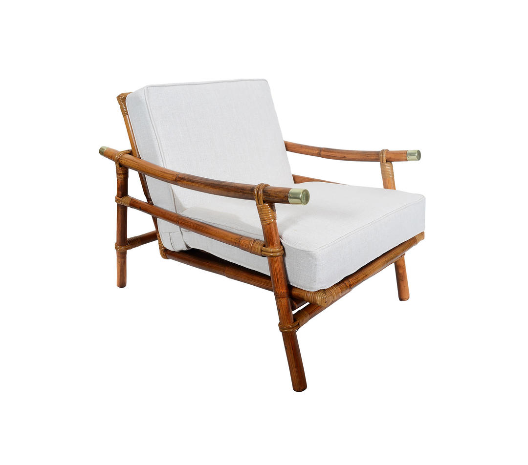 Ficks Reed Arm Chair Bamboo And Rattan Mid Century By