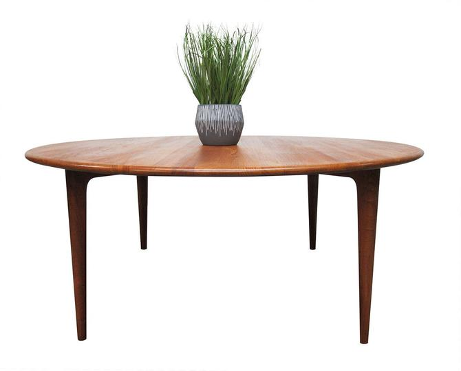 Mid Century Coffee Table by A. Mikael Laursen of Denmark by SputnikFurnitureLLC