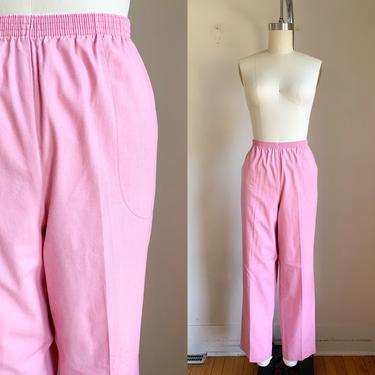 Vintage 1980s Pink Pants / M by MsTips