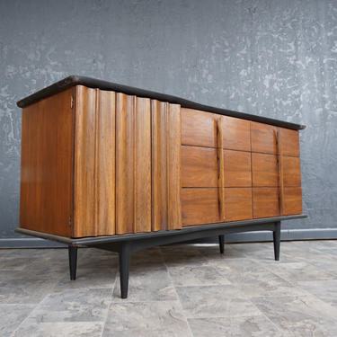 Mid Century Walnut credenza by United Furniture