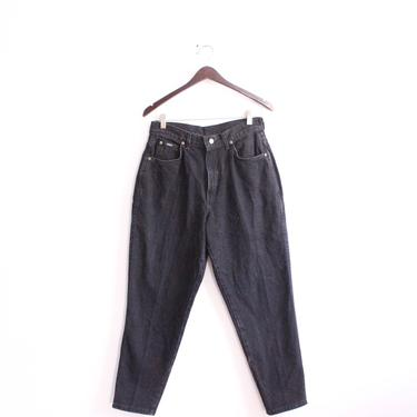 High Waisted Chic Black 90s Jeans by LooseGoods