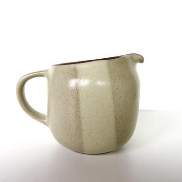 Heath Ceramics Creamer In Birch, Edith Heath Small Pitcher, Modernist Dishes, Mid Century Minimalist Ceramic Dishes by HerVintageCrush