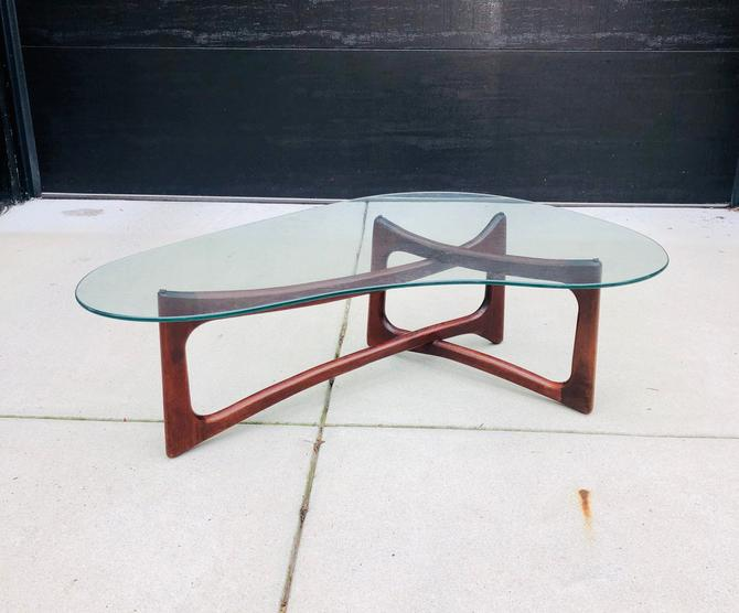 Vintage Adrian Pearsall Coffee Table by BentwoodVintage