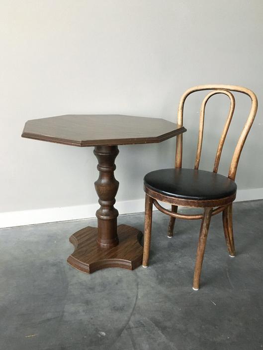 vintage Hollywood Regency bistro table