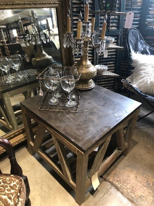 Cool Cottage Style Side Table