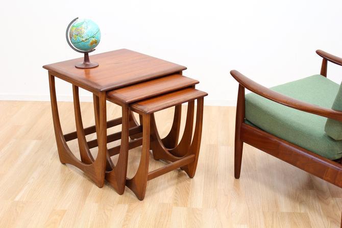 Mid Century Astro Nest of Tables by G Plan by SputnikFurnitureLLC