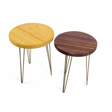 P-funk Hairpin Cafe Tables